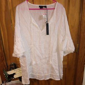 White lightweight shirt